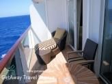 Celebrity Solstice celebrity suite balcony