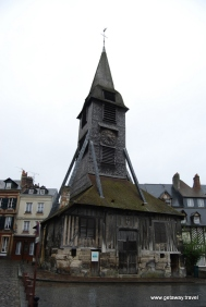 Honfleur St Catherines church