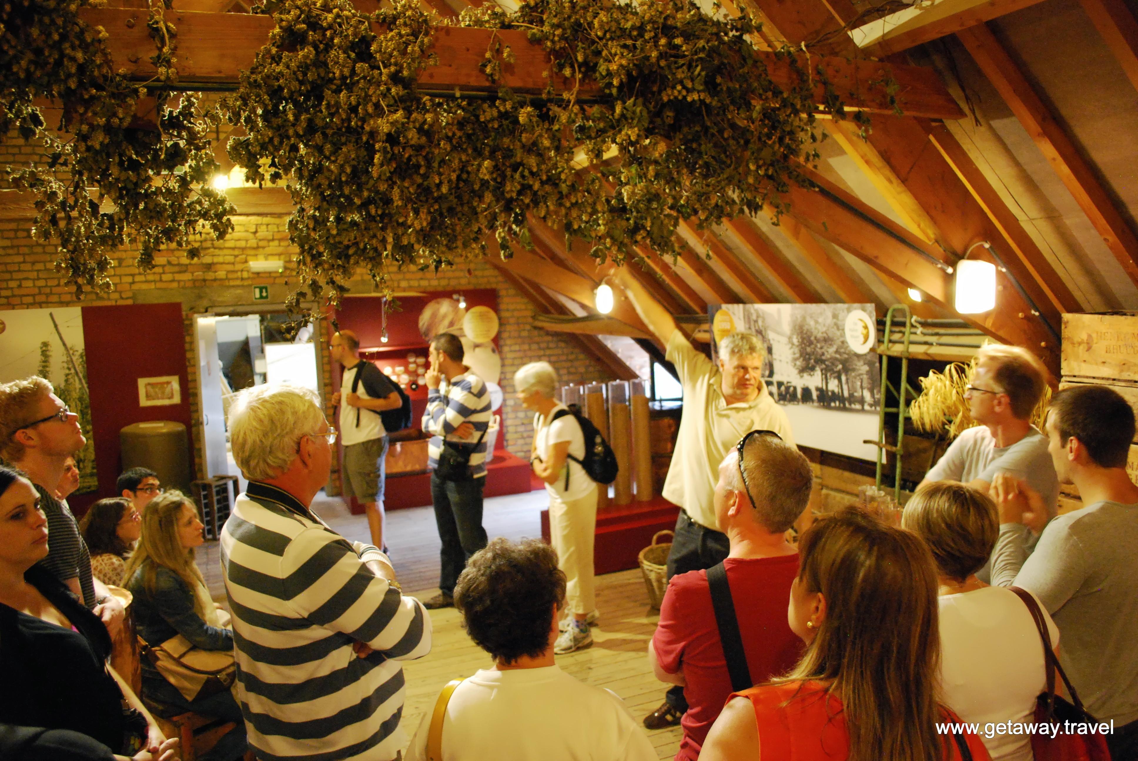 Belgian Brewery Tour In Bruges De Halve Maan The Half