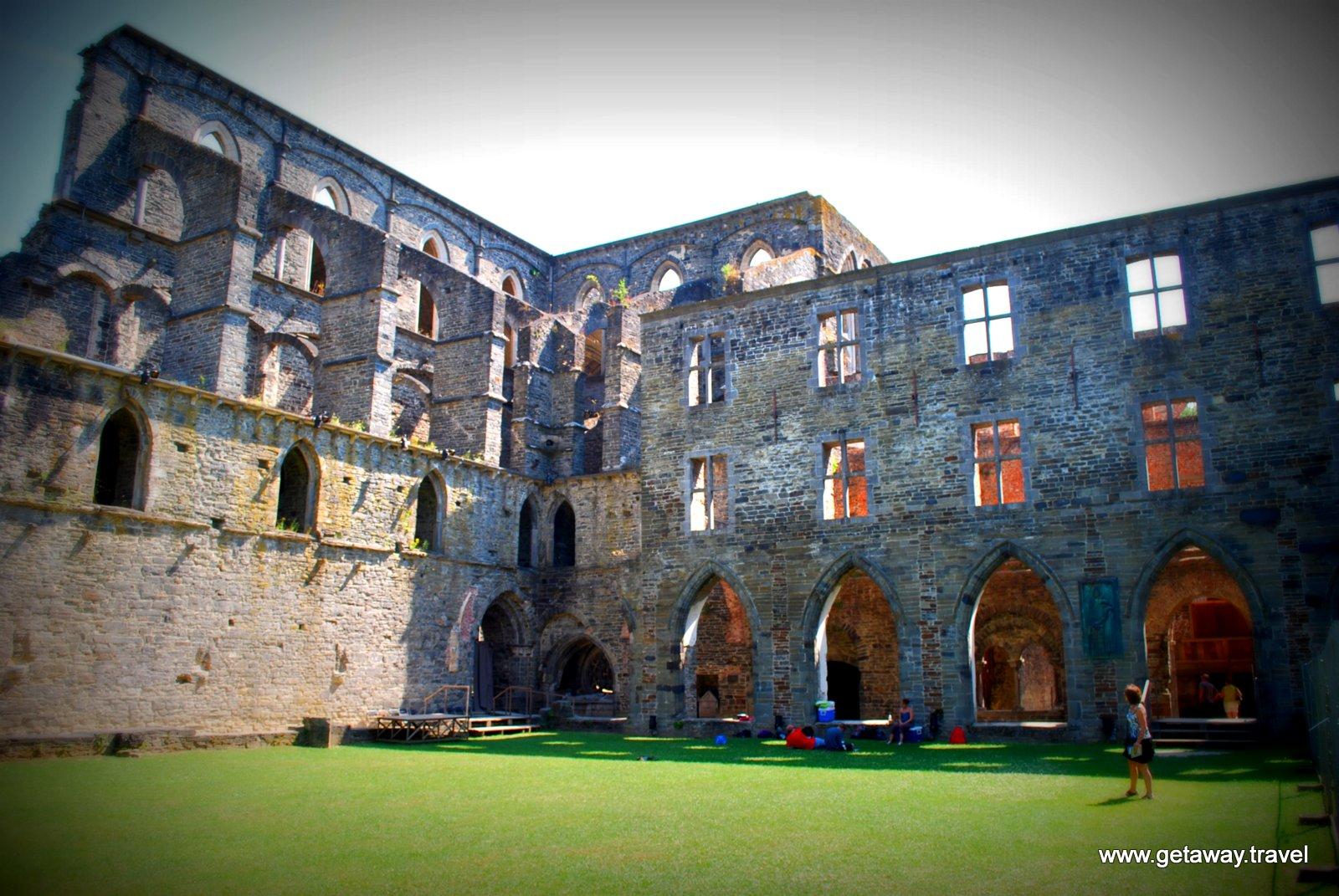 Villers Abbey Province Of Wallonia Belgium Getaway
