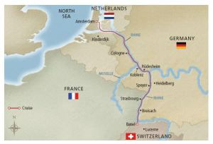 Rhine Getaway itinerary