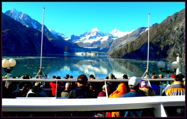 Cruise Ship in Glacier Bay