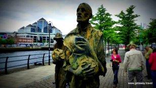 Famine Statue
