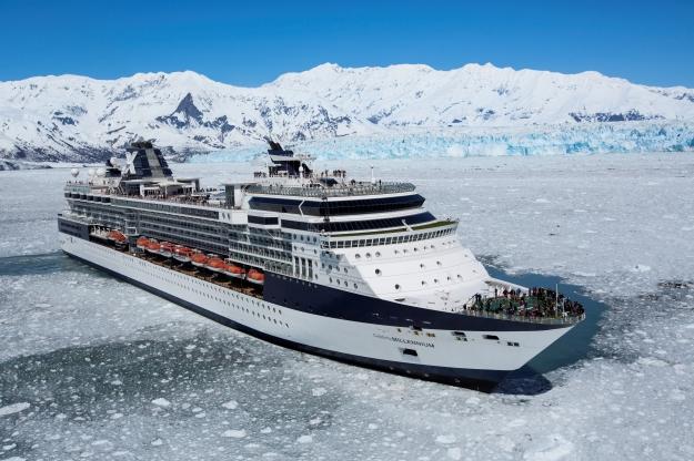 Millennium at Hubbard Glacier - Alaska